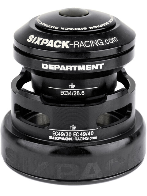 Sixpack Department 2In1 Headset EC3449/28.6 I EC49/30 and EC34/28.6 I EC49/40 black